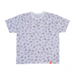T Shirt PAINT Motif Complet Blanc XL Pokémon and Tools