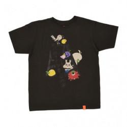 T Shirt STEPLADDER Logo Noir M Pokémon and Tools