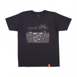 T Shirt PaT Logo Noir M Pokémon and Tools