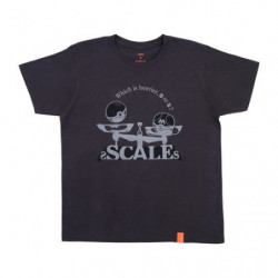 T Shirt SCALES Black M Pokémon and Tools