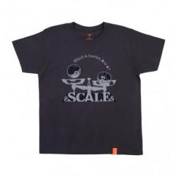 T Shirt SCALES Noir M Pokémon and Tools