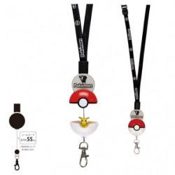 Neck Strap Hyper Reel Pikachu Pokémon