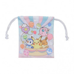 Drawstring Purse for Cup Pokémon Fuusen To Issho