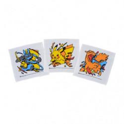 Oshibori Set Pokémon Battle Start