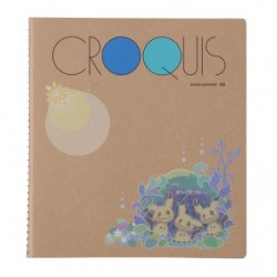 Croquis Book Mimikyu japan plush