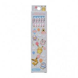 2B Pencils Set Pokémon Fuusen To Issho