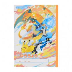 Blank Notebook Pokémon Battle Start