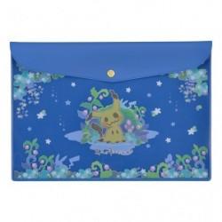 Flat Case Mimikyu Blue japan plush