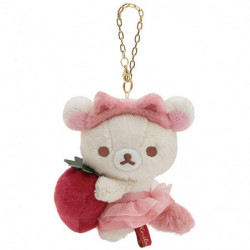 Plush Keychain B Rilakkuma Korilakkuma To Strawberry Cat