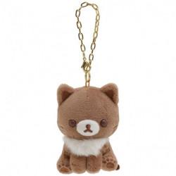 Plush Keychain Cocoa Rilakkuma Korilakkuma To Strawberry Cat
