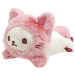 Plush Pyoko Pyoko Rilakkuma Korilakkuma To Strawberry Cat