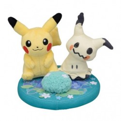 Plush Pikachu & Mimikyu japan plush