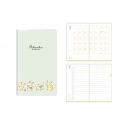 Schedule Book 2022 Pikachu Family Plan B6 Pokémon