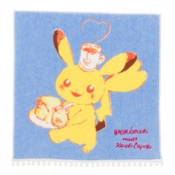 Serviette Mains Pikachu Pokemon meets Karel Capek japan plush