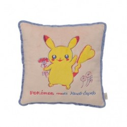 Cushion Flower Pikachu Pokemon meets Karel Capek japan plush