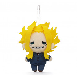 Plush Keychain All Might My Hero Academia The Movie World Heroes Mission