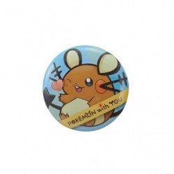 DEDENNE with YOU Badge 2018 japan plush