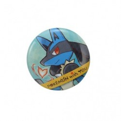 LUCARIO with YOU Badge 2018 japan plush