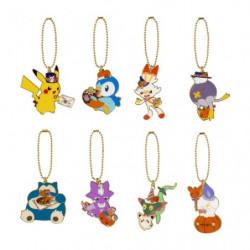 Metal Keychain Collection BOX Pokémon Pumpkin Banquet Halloween 2021