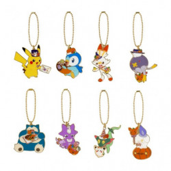 Porte-clé Métallique Collection BOX Pokémon Pumpkin Banquet Halloween 2021