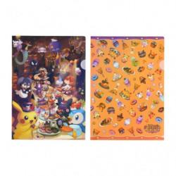 Pochette Transparente Set Pokémon Pumpkin Banquet Halloween 2021