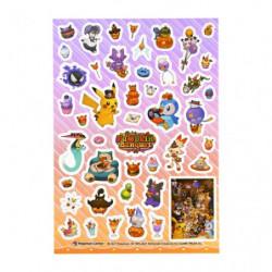 Stickers PET Pokémon Pumpkin Banquet Halloween 2021
