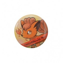 VULPIX with YOU Badge 2018 japan plush