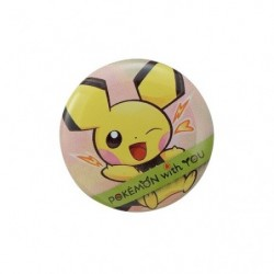 PICHU with YOU Badge 2018 japan plush