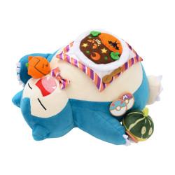 Plush Snorlax Pokémon Pumpkin Banquet Halloween 2021