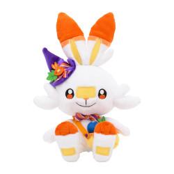 Plush Scorbunny Pokémon Pumpkin Banquet Halloween 2021