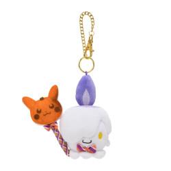 Plush Keychain Litwick Pokémon Pumpkin Banquet Halloween 2021