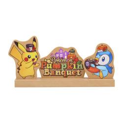Wood Art Pokémon Pumpkin Banquet Halloween 2021