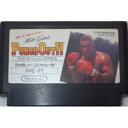 Game Mike Tyson's Punch Out Famicom