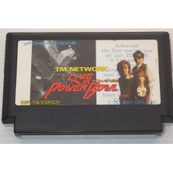 Game Live in Power Bowl TM Network Famicom