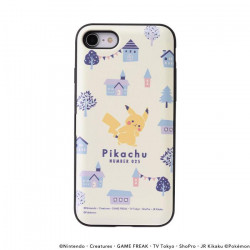 iPhone Cover Forest Town A Pikachu number025