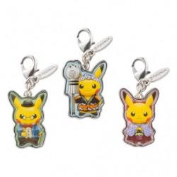 Metal Keychain Pikachu Pokemon Center Tokyo DX japan plush