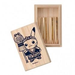 Box Pikachu Fire Fighting Toothpicks Pokemon Center TOKYO DX japan plush