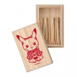 Box Pikachu Hakama Toothpicks Pokemon Center TOKYO DX japan plush