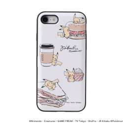 iPhone Cover Kimi To Issho Tabemono B Pikachu number025
