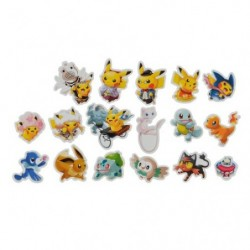 Sticker Pokemon Center Tokyo DX japan plush