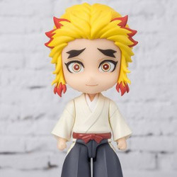 Figure Kyojuro Rengoku Kimetsu No Yaiba Figuarts Mini
