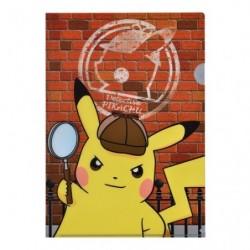 A4 Clear File Pikachu Detective japan plush