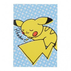 A5 Note Pikachu Drawing Blue japan plush