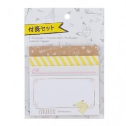 Sticky Note Pikachu Drawing Yellow japan plush
