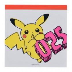 Memo Pikachu Drawing Orange japan plush