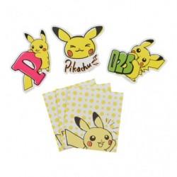 Message Card Pikachu Drawing Pink japan plush