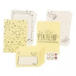 Letter Set Pikachu Drawing Yellow japan plush