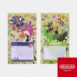 Support Post It Calamar ou Pieuvre Splatoon Nintendo