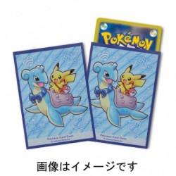 Card Sleeves Lapras Pikachu japan plush