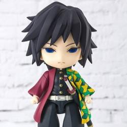 Figurine Giyu Tomioka Kimetsu No Yaiba Figuarts Mini
